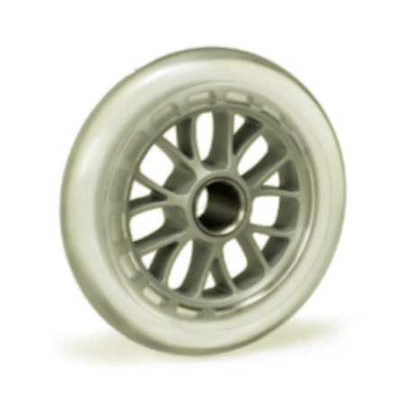 Micro Scooter 100 mm Clear Wheel with bearings.