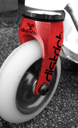 District FK1 Fork - Red
