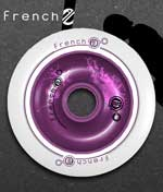 2010 k-124 Metal Core Scooter Wheel - 100mm- Purple