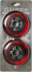 JD Bug Scooter 100mm / 86A Wheels - Red