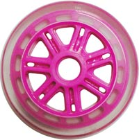 JD Bug Scooter 120mm / 88A Wheel - Pink